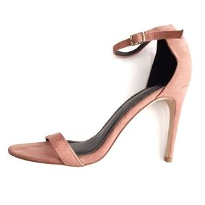 Shoe Republic LA blush pink pumps
